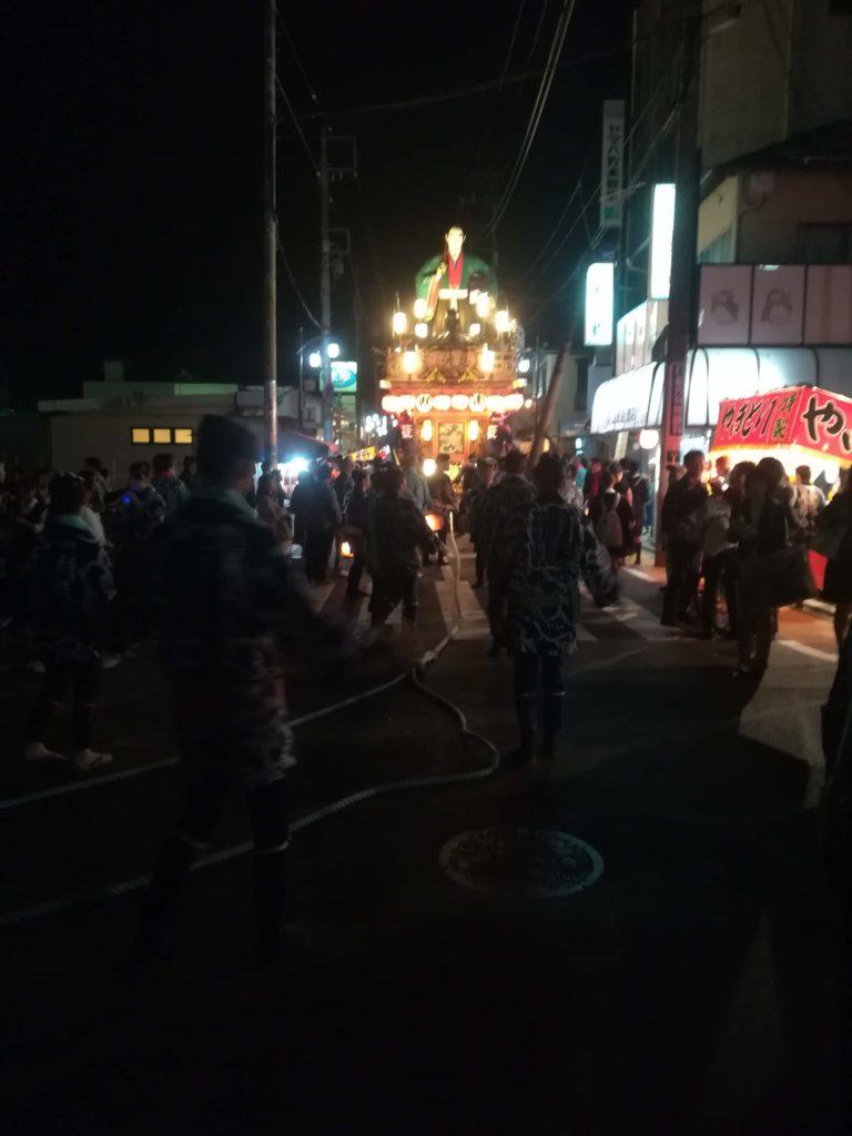 2018年佐原の大祭秋祭り
