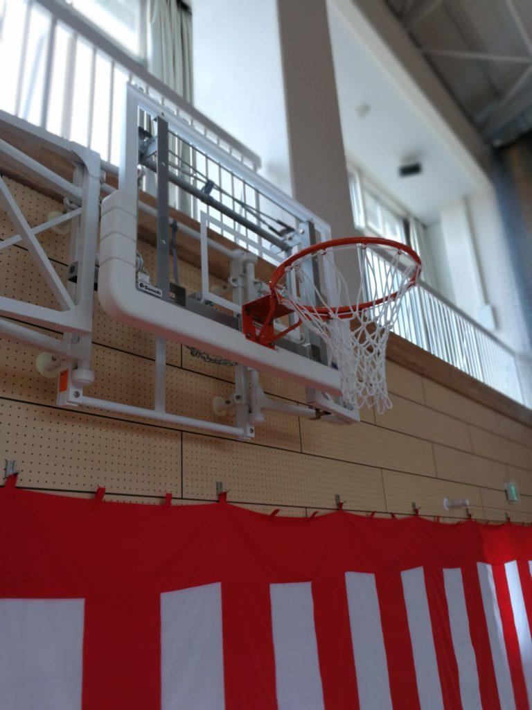 香取市立山田小学校バスケットゴール