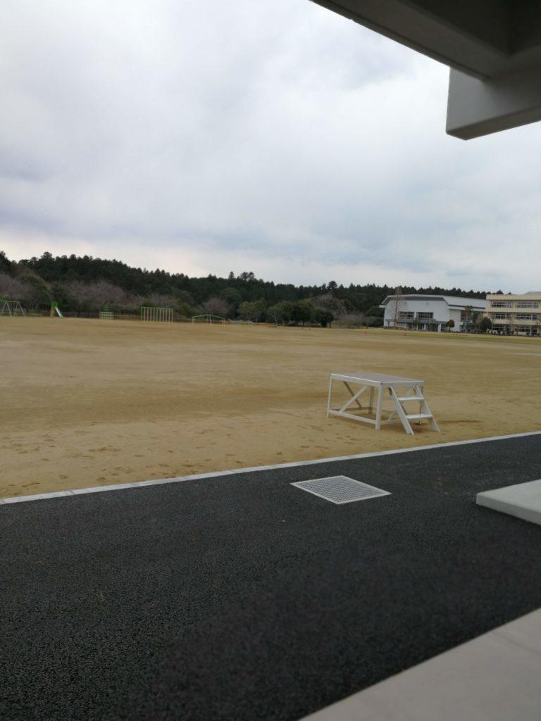 香取市立山田小学校校庭