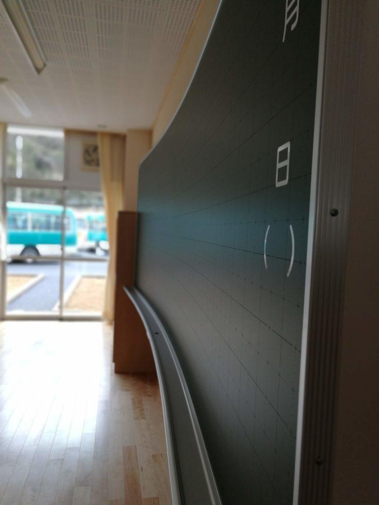 香取市立山田小学校黒板