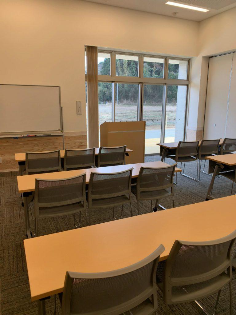 橘ふれあい公園体験学習施設テラス・サンサン多目的室2セミナー