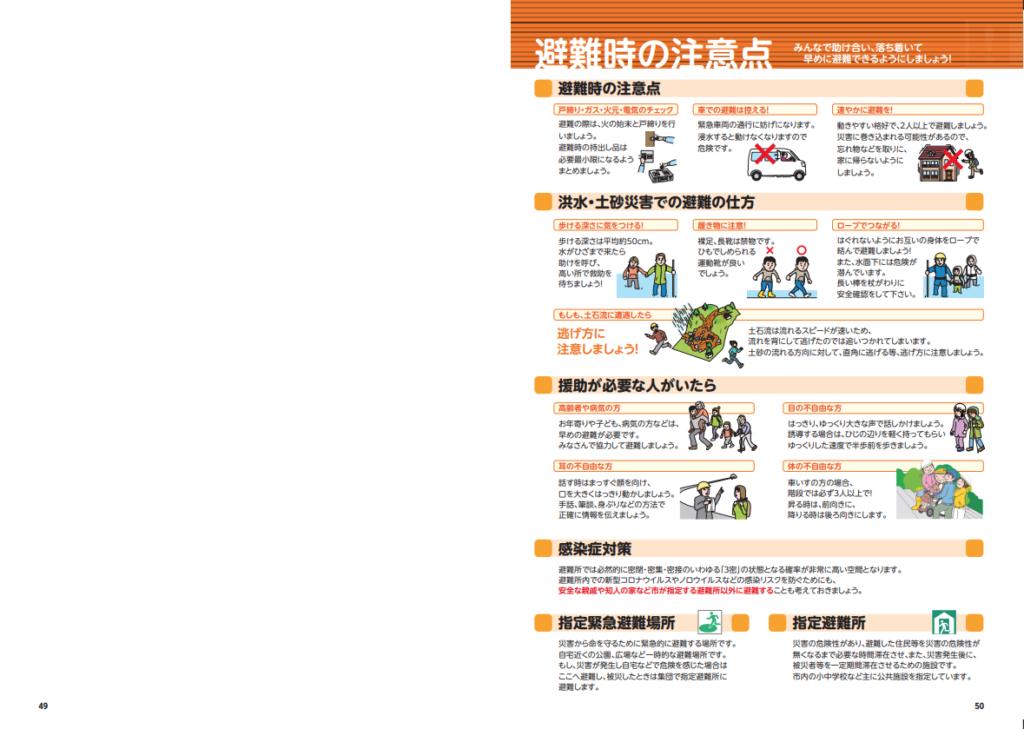 香取市ハザードマップ 総合防災マップ27