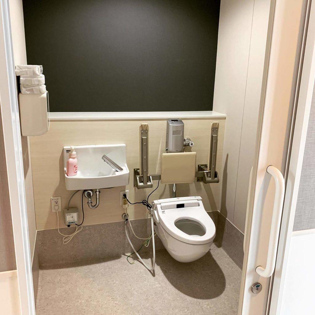 20190823香取おみがわ医療センター竣工式個室トイレ
